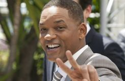 "Will Smith als blauer Flaschengeist in ""Aladdin"""
