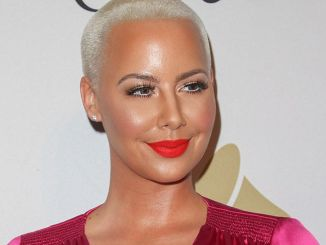 Amber Rose - 59th Annual Grammy Awards