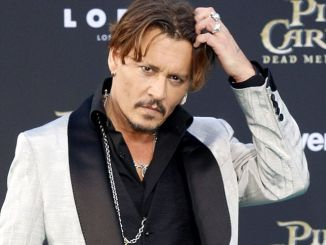 "Johnny Depp - ""Pirates Of The Caribbean: Dead Men Tell No Tales"" Los Angeles Premiere"
