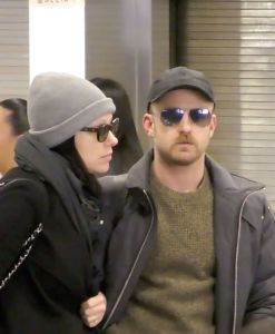 Laura Prepon and Ben Foster Sighted in Park City Utah for the 2017 Sundance Film Festival on January 20, 2017