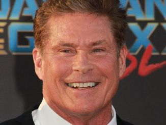 "David Hasselhoff - ""Guardians Of The Galaxy Vol. 2"" Los Angeles Premiere"