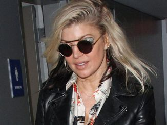 Fergie Sighted at LAX Airport on February 6, 2017