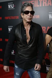 """Mickey Rourke - """"The Infiltrator'"""" New York Premiere"""
