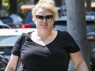 Rebel Wilson Sighted in Los Angeles on June 22, 2017
