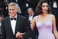 George Clooney and Amal Clooney - 74th Annual Venice International Film Festival - 2