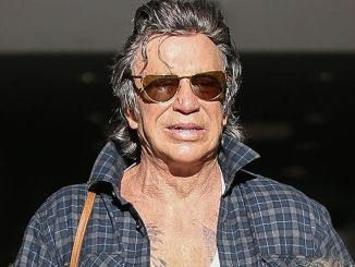 Mickey Rourke Sighted in Los Angeles on January 31, 2017