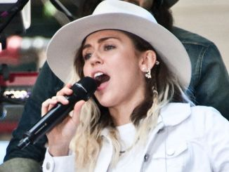 "Miley Cyrus in Concert on NBC's ""The Today Show"" at Rockefeller Plaza in New York City - 3"
