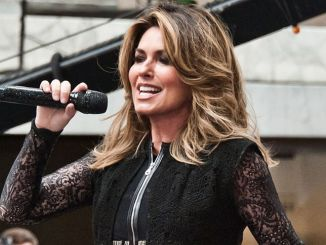"""Shania Twain in Concert on NBC's """"Today"""" Show at Rockefeller Plaza in New York City"""