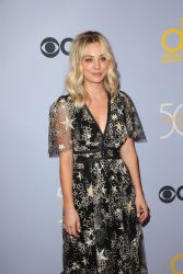 Kaley Cuoco - CBS' 'The Carol Burnett Show 50th Anniversary Special' - Arrivals