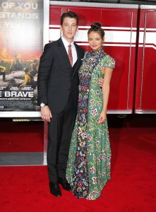 """Miles Teller, Keleigh Sperry - """"Only The Brave"""" Los Angeles Premiere"""