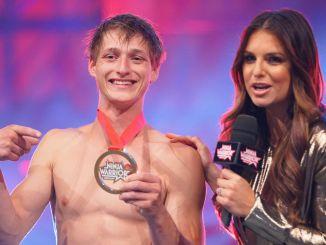"""Ninja Warrior Germany"" 2017: Moritz Hans ehrt seine Medaille - TV"