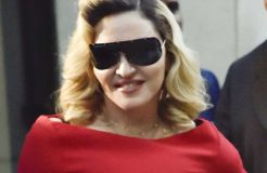 Madonna: Gabeln gegen Falten?