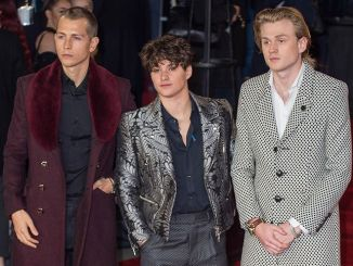 "Tristan Evans, Bradley Simpson, James McVey - ""Murder on the Orient Express"" World Premiere"