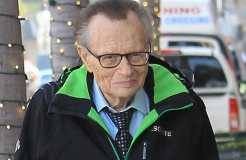 Larry King kennt kein Altersleiden