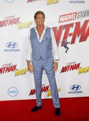 """David Hasselhoff - """"Ant-Man and the Wasp"""" World Premiere"""