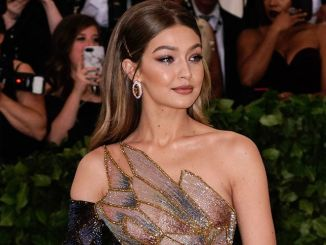 "Gigi Hadid - ""Heavenly Bodies: Fashion & The Catholic Imagination"" Costume Institute Gala"