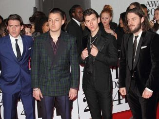 Arctic Monkeys - BRIT Awards 2014 - Arrivals