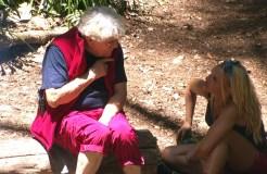 Dschungelcamp 2019: Tommi Piper ganz entzückt von Evelyn Burdecki