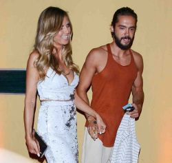 Heidi Klum and Tom Kaulitz Sighted in Los Angeles on August 22, 2018