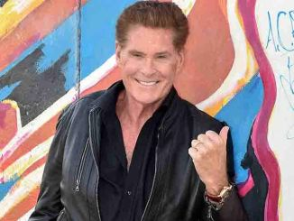 """David Hasselhoff - """"Up Against the Wall - Mission Mauerfall"""" Audiobook Berlin Photo Call"""
