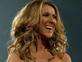 """Celine Dion - Celine Dion in concert during her """"Taking Chances"""" tour at American Airlines Arena"""