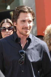 Christian Bale - Christopher Nolan Hand and Footprint Ceremony at Grauman's Chinese Theatre