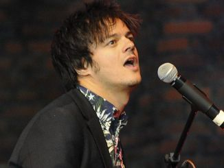 Jamie Cullum Performs On Stage at Hampton Court Palace Festival