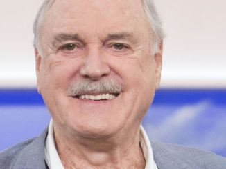 John Cleese Visits CTV's The Social in Toronto on November 10, 2014