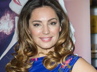 """Kelly Brook Launches """"Audition"""" Perfume at Perfume Shop in London"""