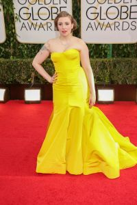 Lena Dunham - 71st Annual Golden Globe Awards