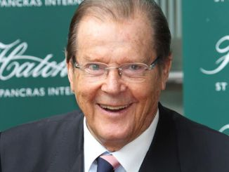 "Roger Moore ""Last Man Standing: Tales from Tinseltown"" Book Signing at Hatchards in London"