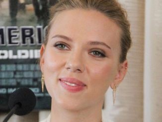 "Scarlett Johansson - ""Captain America: The Winter Soldier"" Beverly Hills Press Conference"