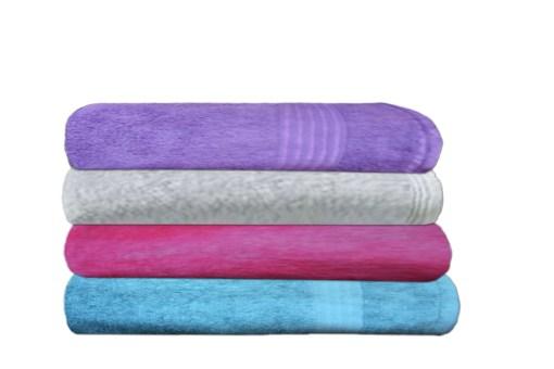 Bath Towels 100% Cotton Set of 4 by Avioni