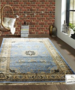 Persian Carpet – Premium Silk Luxury Area Rug – 6X9 Feet -Avioni