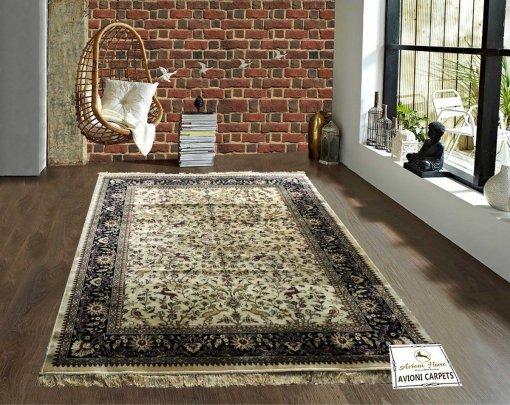 Persian Rugs – Premium Silk  Luxury Floor Carpet – 5X7 Feet -Avioni