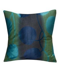 Beautiful Cushion Covers in Aqua heavy knitting 16 X 16 Inch (set of 5) by Avioni