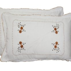 Pillow Cases  – Beautiful 100% Cotton Pillow Cover -Set of 2 – 67 X 45 Cms –  Avioni