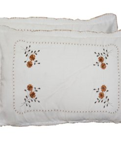 Pillow Cases  - Beautiful 100% Cotton Pillow Cover -Set of 2 - 67 X 45 Cms -  Avioni