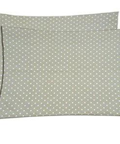 Pillowcase Collection - Beautiful Fancy Pillow Cases in Polka Dots - 100% Cotton - Set of 2 - by Avioni