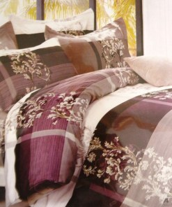 Double Bed Sheet Floral Print MultiColor