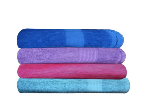 Bath Towels 100% Cotton ( Set of 4) by Avioni
