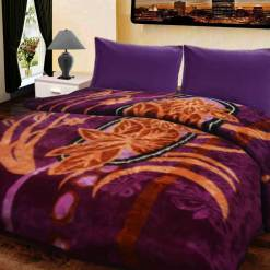 Soft Double Bed Mink Blankets Beautiful Design With Multicolor by Avioni