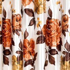 Avioni Beautiful Digital Floral Prints Window And Door Curtains (Set of 2)