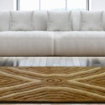 Shag Pile Carpet - Coffee  & Beige Modern Squares Design  - Contemporary Rugs by Avioni  - Best Seller