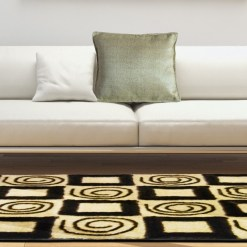 Designer Rugs – Shaggy Carpet with contemporary Coffee Design  – Factory Price from Avioni