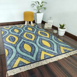Avioni Carpet – Faux Silk- Neo Modern Collection Divine Eye- 3×5 Feet