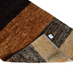 Avioni Rugs Coffee Gradient For Living Room Actual Feather Touch- Softness Guaranteed-Handloom Made Reversible Light Weight