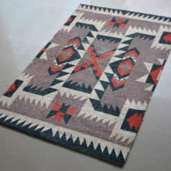 Avioni Carpets for Kids Room Silk Neo Collection- Ethnic Modern Design- 92 cm X 152 cm (3X5 Feet)
