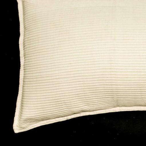 AVIONI 100% Cotton Pillow Covers – Set of 2 (Medium Size) Pink Lines