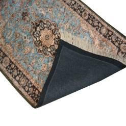 Silk Carpet Persian Design Collection Ethnic Blue  – Living Room Rug – 4×6 Feet  (120 x 180 cms)-Avioni